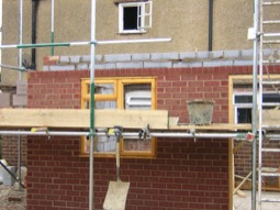 New build and extensions work by Hancocks Brickwork